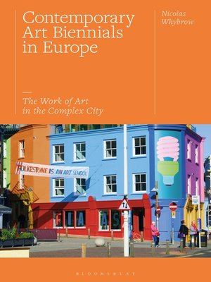 cover image of Contemporary Art Biennials in Europe