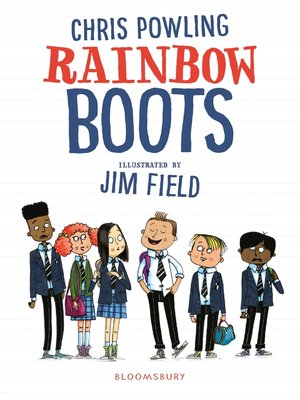 cover image of Rainbow Boots