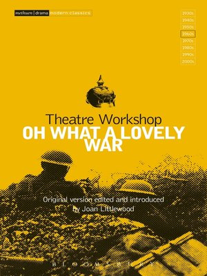 cover image of Oh What a Lovely War