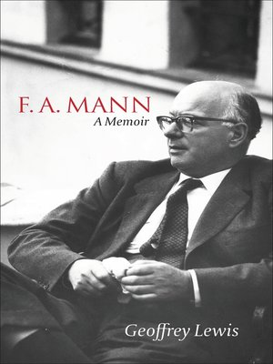 cover image of F.A. Mann