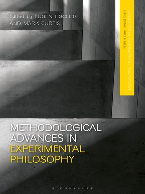 cover image of Methodological Advances in Experimental Philosophy