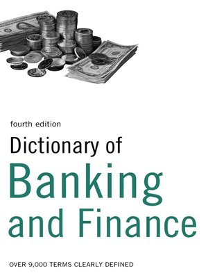 cover image of Dictionary of Banking and Finance