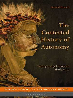 cover image of The Contested History of Autonomy