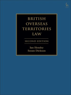 cover image of British Overseas Territories Law
