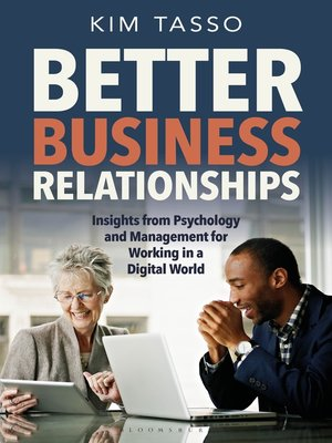 cover image of Better Business Relationships