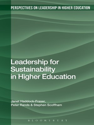 cover image of Leadership for Sustainability in Higher Education
