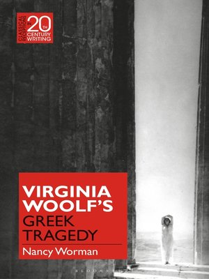 cover image of Virginia Woolf's Greek Tragedy