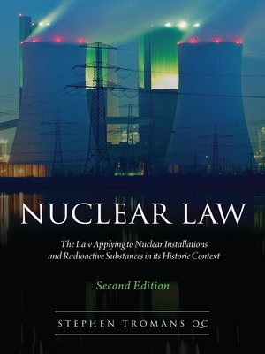 cover image of Nuclear Law