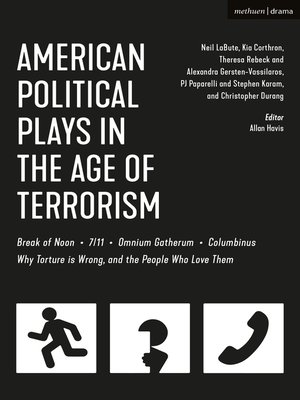 cover image of American Political Plays in the Age of Terrorism