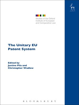 cover image of The Unitary EU Patent System