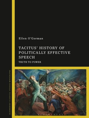 cover image of Tacitus' History of Politically Effective Speech