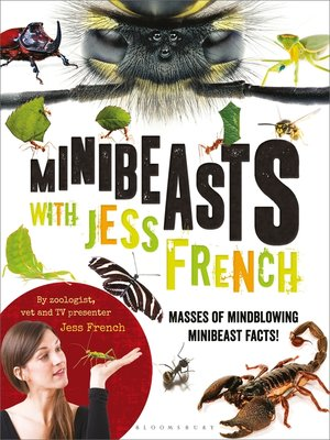 cover image of Minibeasts with Jess French