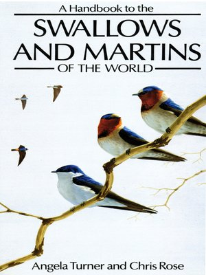cover image of A Handbook to the Swallows and Martins of the World
