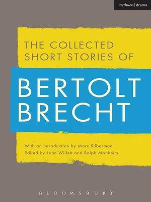 cover image of Collected Short Stories of Bertolt Brecht