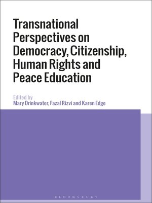 cover image of Transnational Perspectives on Democracy, Citizenship, Human Rights and Peace Education