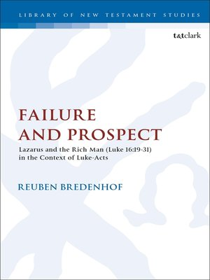 cover image of Failure and Prospect