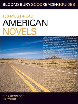 cover image of 100 Must-Read American Novels