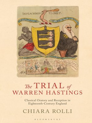 cover image of The Trial of Warren Hastings
