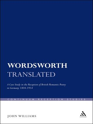 cover image of Wordsworth Translated