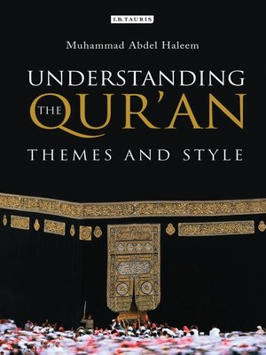 cover image of Understanding the Qur'an