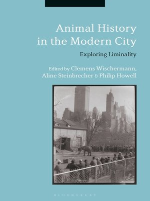 cover image of Animal History in the Modern City