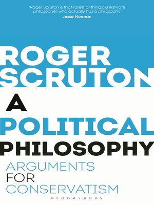 cover image of A Political Philosophy
