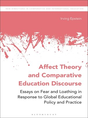 cover image of Affect Theory and Comparative Education Discourse