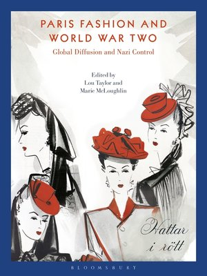 cover image of Paris Fashion and World War Two