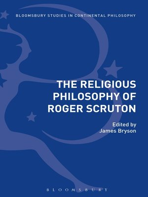 cover image of The Religious Philosophy of Roger Scruton