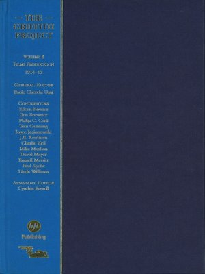 cover image of The Griffith Project, Volume 8