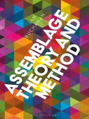 cover image of Assemblage Theory and Method