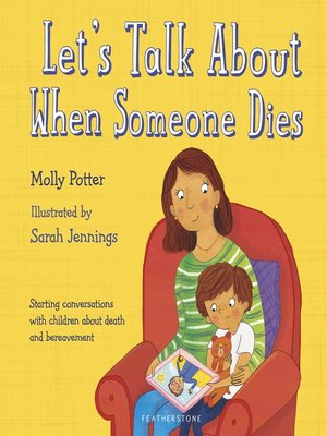cover image of Let's Talk About When Someone Dies