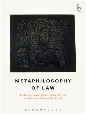 cover image of Metaphilosophy of Law