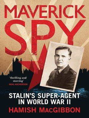 cover image of Maverick Spy