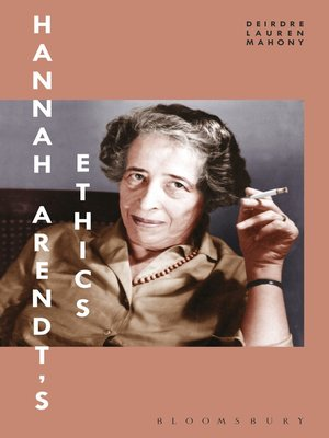 cover image of Hannah Arendt's Ethics