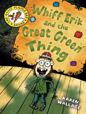 cover image of Whiff Erik and the Great Green Thing