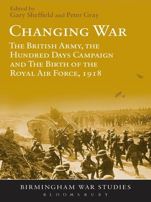 cover image of Changing War