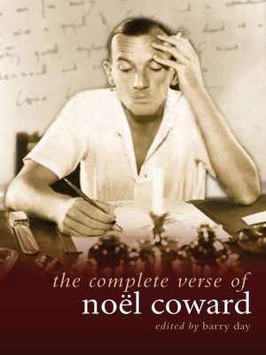 cover image of The Complete Verse of Noel Coward