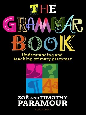 cover image of The Grammar Book