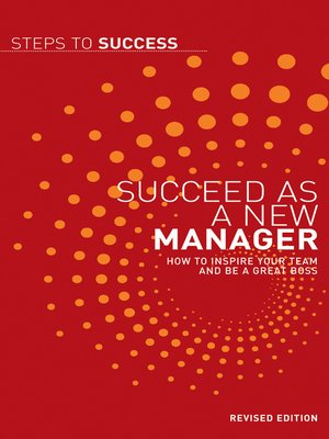 cover image of Succeed as a New Manager