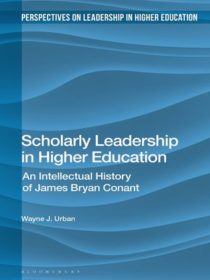 cover image of Scholarly Leadership in Higher Education
