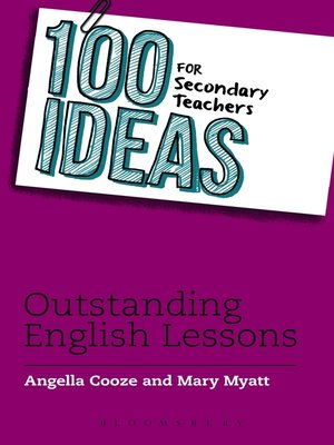cover image of 100 Ideas for Secondary Teachers