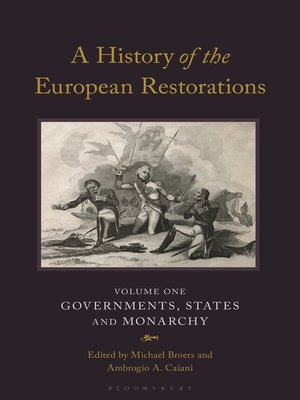 cover image of A History of the European Restorations