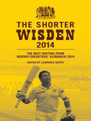 cover image of The Shorter Wisden 2014