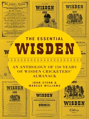 cover image of The Essential Wisden