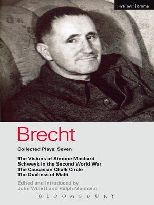 cover image of Brecht Collected Plays, 7
