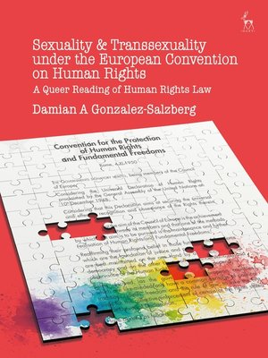 cover image of Sexuality and Transsexuality Under the European Convention on Human Rights