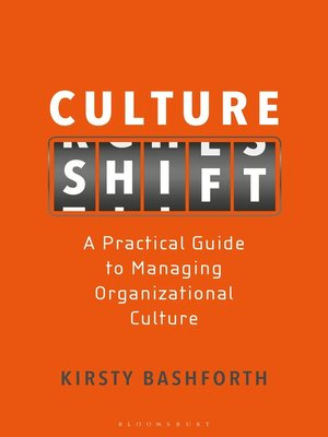 cover image of Culture Shift
