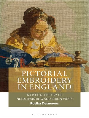 cover image of Pictorial Embroidery in England