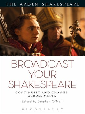 cover image of Broadcast your Shakespeare